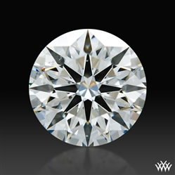 1.281 ct H SI1 A CUT ABOVE® Hearts and Arrows Super Ideal Round Cut Loose Diamond