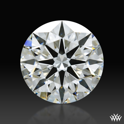 0.865 ct H VS1 A CUT ABOVE® Hearts and Arrows Super Ideal Round Cut Loose Diamond