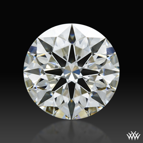 0.858 ct H VS1 A CUT ABOVE® Hearts and Arrows Super Ideal Round Cut Loose Diamond