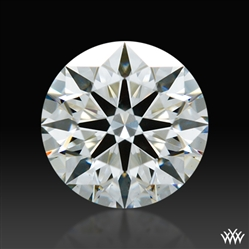 0.776 ct H VS2 A CUT ABOVE® Hearts and Arrows Super Ideal Round Cut Loose Diamond
