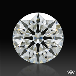 0.744 ct H VS1 A CUT ABOVE® Hearts and Arrows Super Ideal Round Cut Loose Diamond