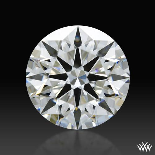 0.85 ct E SI1 A CUT ABOVE® Hearts and Arrows Super Ideal Round Cut Loose Diamond