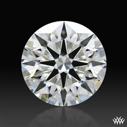 0.85 ct E SI1 A CUT ABOVE® Hearts and Arrows Super Ideal Round Cut Loose Diamond