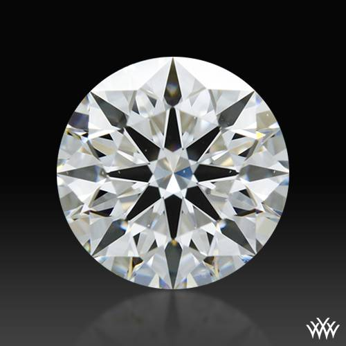 0.823 ct G SI1 A CUT ABOVE® Hearts and Arrows Super Ideal Round Cut Loose Diamond