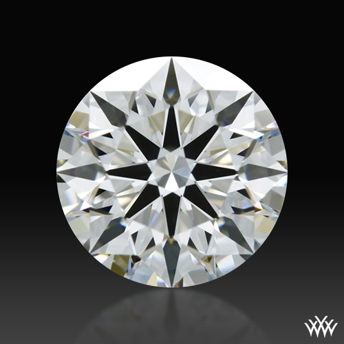 0.856 ct F VS1 A CUT ABOVE® Hearts and Arrows Super Ideal Round Cut Loose Diamond