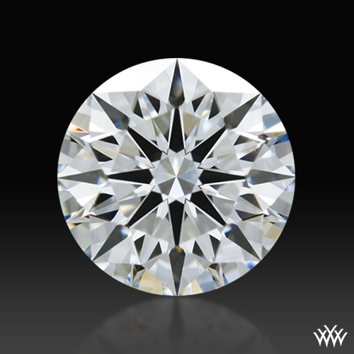 0.83 ct E SI1 A CUT ABOVE® Hearts and Arrows Super Ideal Round Cut Loose Diamond