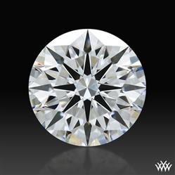 0.83 ct E SI1 A CUT ABOVE® Hearts and Arrows Super Ideal Round Cut Loose Diamond
