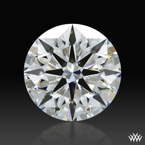 0.807 ct F VS1 A CUT ABOVE® Hearts and Arrows Super Ideal Round Cut Loose Diamond