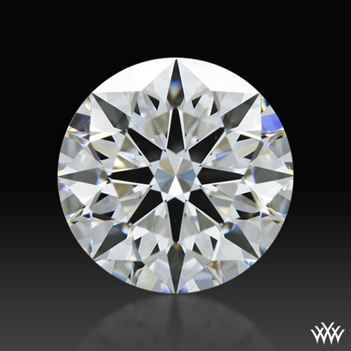 0.864 ct F IF A CUT ABOVE® Hearts and Arrows Super Ideal Round Cut Loose Diamond