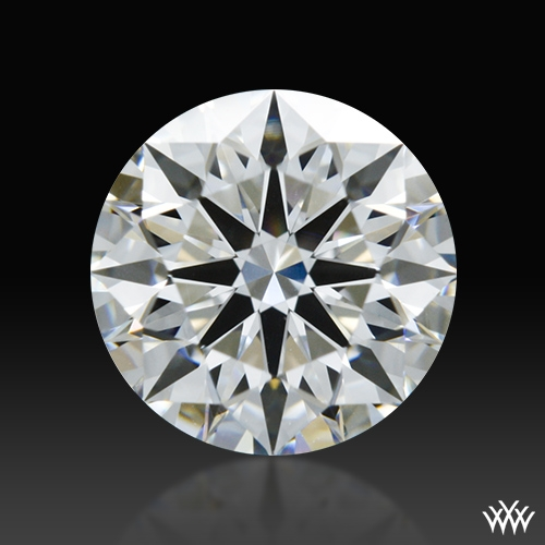 0.854 ct G VS2 A CUT ABOVE® Hearts and Arrows Super Ideal Round Cut Loose Diamond
