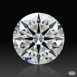 0.805 ct F SI1 A CUT ABOVE® Hearts and Arrows Super Ideal Round Cut Loose Diamond