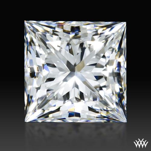 0.901 ct F SI1 A CUT ABOVE® Princess Super Ideal Cut Diamond