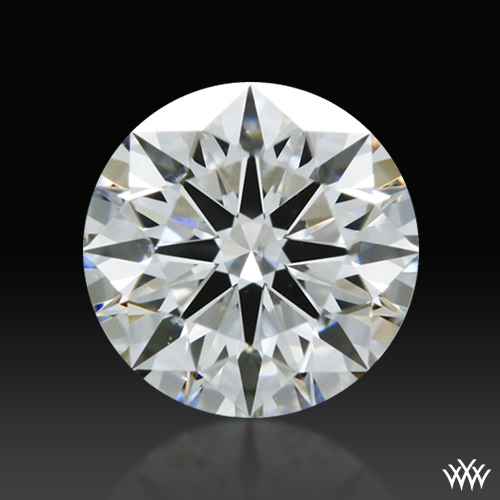 0.403 ct E SI1 A CUT ABOVE® Hearts and Arrows Super Ideal Round Cut Loose Diamond