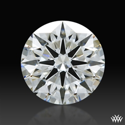 0.403 ct E SI1 A CUT ABOVE® Hearts and Arrows Super Ideal Round Cut Loose Diamond