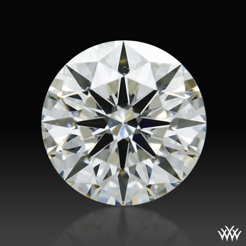 0.456 ct I SI1 A CUT ABOVE® Hearts and Arrows Super Ideal Round Cut Loose Diamond