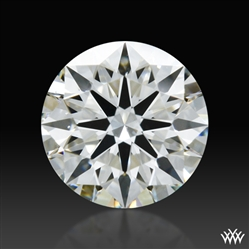 0.411 ct I SI1 A CUT ABOVE® Hearts and Arrows Super Ideal Round Cut Loose Diamond