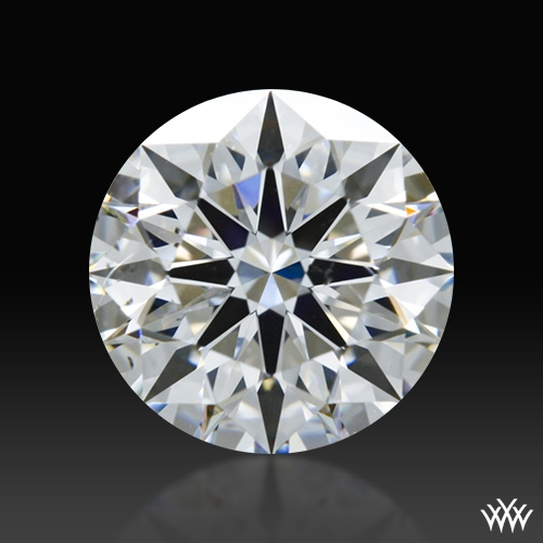 0.845 ct E SI1 A CUT ABOVE® Hearts and Arrows Super Ideal Round Cut Loose Diamond