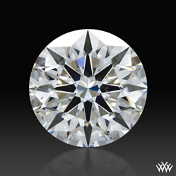 0.845 ct E SI1 A CUT ABOVE® Hearts and Arrows Super Ideal Round Cut Loose Diamond