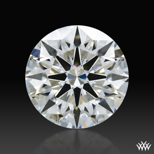 0.813 ct E SI1 A CUT ABOVE® Hearts and Arrows Super Ideal Round Cut Loose Diamond