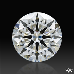 0.813 ct E SI1 A CUT ABOVE® Hearts and Arrows Super Ideal Round Cut Loose Diamond