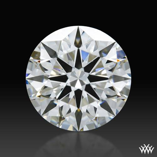 0.857 ct F VS1 A CUT ABOVE® Hearts and Arrows Super Ideal Round Cut Loose Diamond