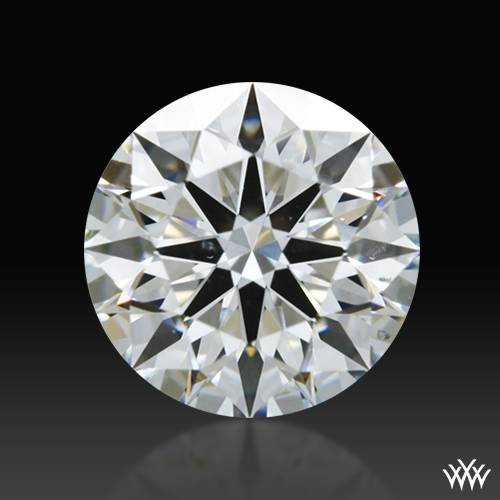 0.804 ct F SI1 A CUT ABOVE® Hearts and Arrows Super Ideal Round Cut Loose Diamond