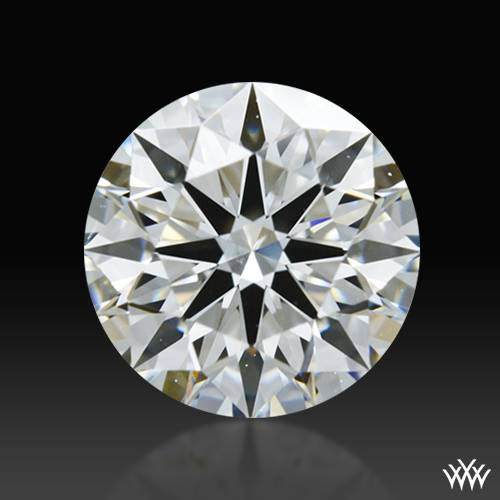 0.714 ct H VS2 A CUT ABOVE® Hearts and Arrows Super Ideal Round Cut Loose Diamond