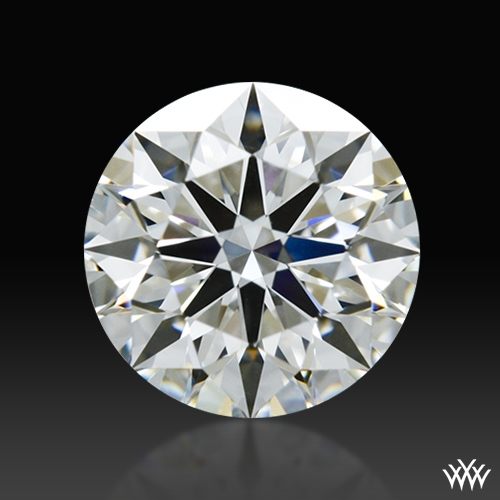 0.817 ct H VS2 A CUT ABOVE® Hearts and Arrows Super Ideal Round Cut Loose Diamond