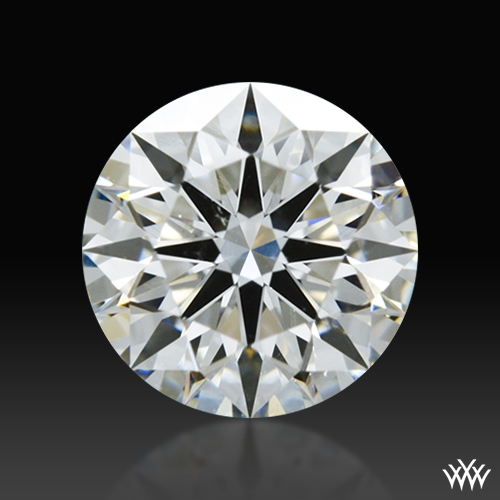 0.828 ct H SI1 A CUT ABOVE® Hearts and Arrows Super Ideal Round Cut Loose Diamond