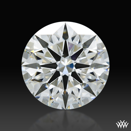 0.848 ct G SI1 A CUT ABOVE® Hearts and Arrows Super Ideal Round Cut Loose Diamond