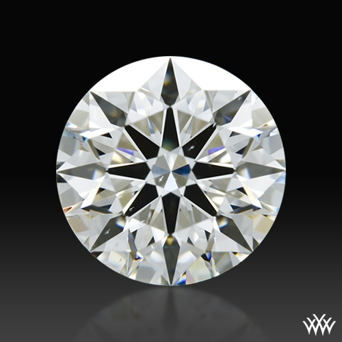 0.833 ct H SI1 A CUT ABOVE® Hearts and Arrows Super Ideal Round Cut Loose Diamond