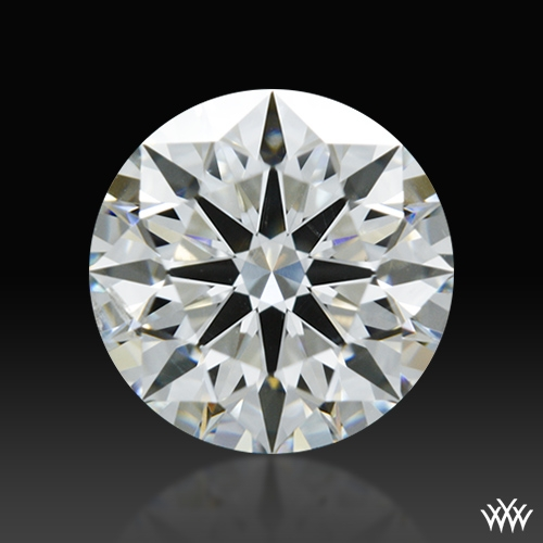 1.127 ct H SI1 A CUT ABOVE® Hearts and Arrows Super Ideal Round Cut Loose Diamond