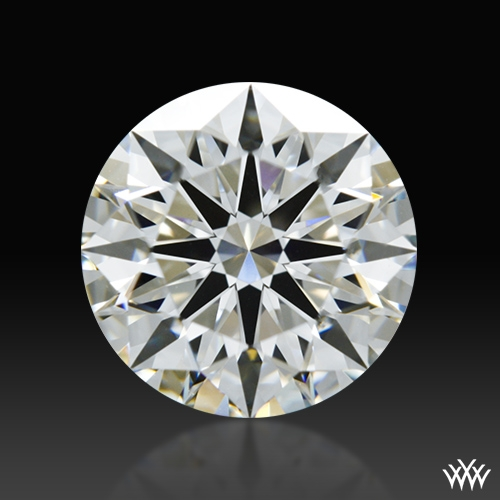 1.347 ct H VS2 A CUT ABOVE® Hearts and Arrows Super Ideal Round Cut Loose Diamond