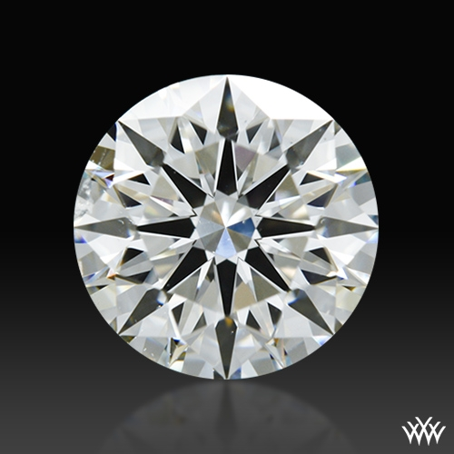 1.216 ct I SI1 A CUT ABOVE® Hearts and Arrows Super Ideal Round Cut Loose Diamond