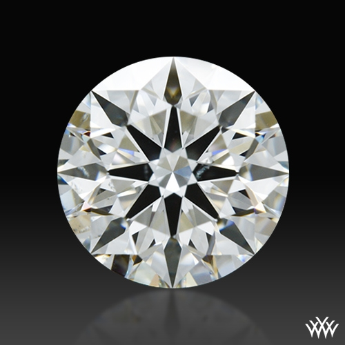 1.101 ct H SI1 A CUT ABOVE® Hearts and Arrows Super Ideal Round Cut Loose Diamond