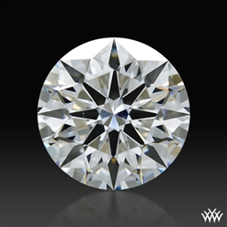 1.057 ct F SI1 A CUT ABOVE® Hearts and Arrows Super Ideal Round Cut Loose Diamond