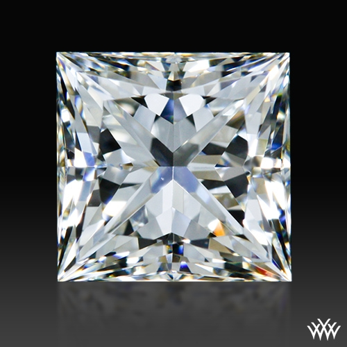 0.808 ct I VVS2 A CUT ABOVE® Princess Super Ideal Cut Diamond