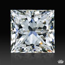 0.808 ct I VVS2 A CUT ABOVE® Princess Super Ideal Cut Diamond