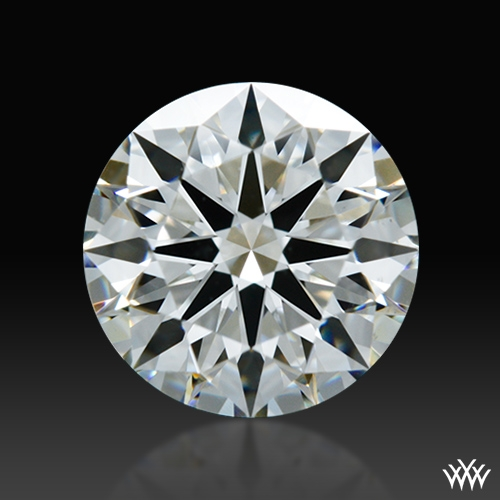 0.926 ct H VS2 A CUT ABOVE® Hearts and Arrows Super Ideal Round Cut Loose Diamond