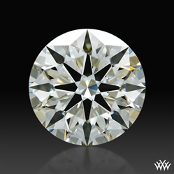 0.944 ct L VS1 A CUT ABOVE® Hearts and Arrows Super Ideal Round Cut Loose Diamond