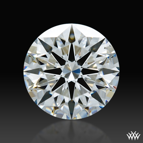 1.128 ct F VS2 A CUT ABOVE® Hearts and Arrows Super Ideal Round Cut Loose Diamond
