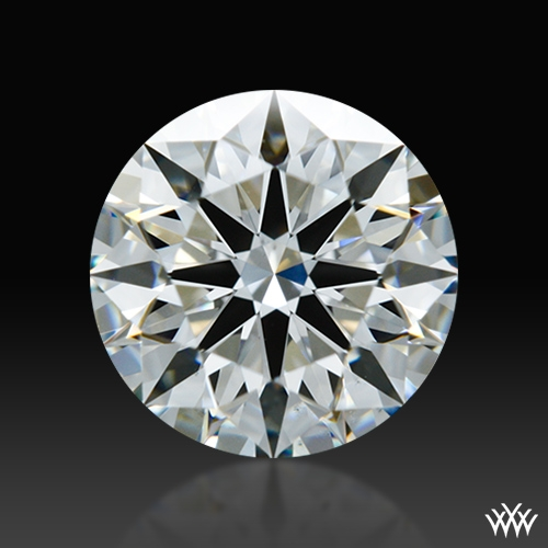 1.074 ct H VS1 A CUT ABOVE® Hearts and Arrows Super Ideal Round Cut Loose Diamond