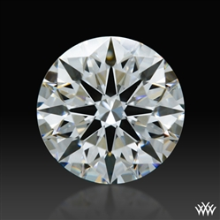 0.612 ct F VS1 A CUT ABOVE® Hearts and Arrows Super Ideal Round Cut Loose Diamond