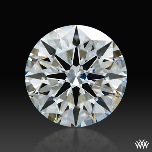 0.646 ct G VS2 A CUT ABOVE® Hearts and Arrows Super Ideal Round Cut Loose Diamond