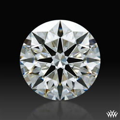 0.806 ct J VS1 A CUT ABOVE® Hearts and Arrows Super Ideal Round Cut Loose Diamond