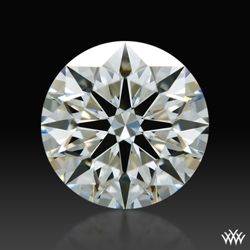 0.818 ct J VS2 A CUT ABOVE® Hearts and Arrows Super Ideal Round Cut Loose Diamond