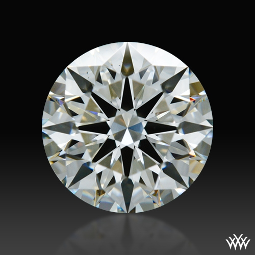 0.833 ct I VS2 A CUT ABOVE® Hearts and Arrows Super Ideal Round Cut Loose Diamond