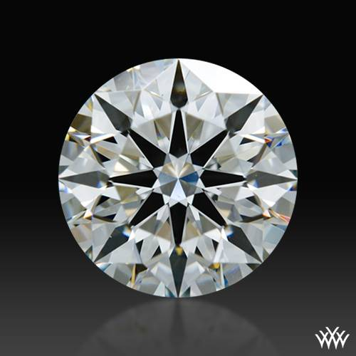0.878 ct G VS1 A CUT ABOVE® Hearts and Arrows Super Ideal Round Cut Loose Diamond