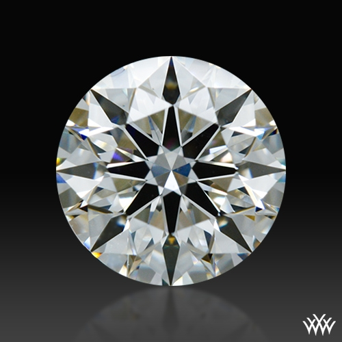 0.804 ct H VS1 A CUT ABOVE® Hearts and Arrows Super Ideal Round Cut Loose Diamond