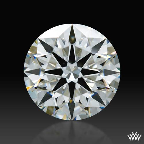0.807 ct H VS1 A CUT ABOVE® Hearts and Arrows Super Ideal Round Cut Loose Diamond